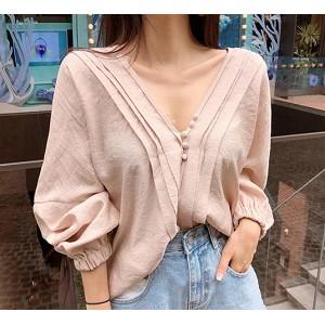 韓國服飾-KW-0701-051-韓國官網- 上衣