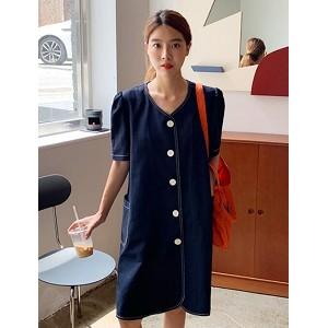 韓國服飾-KW-0703-068-韓國官網-連衣裙