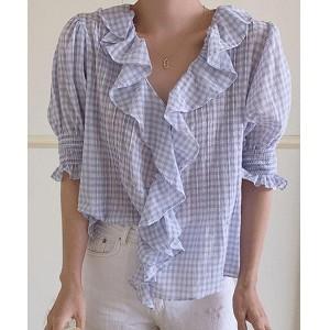 韓國服飾-KW-0710-090-韓國官網-上衣