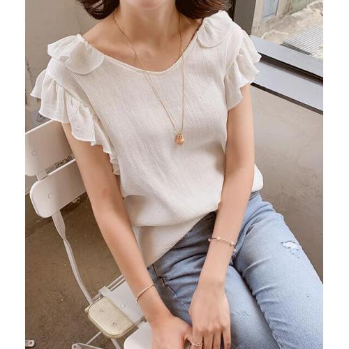 韓國服飾-KW-0819-077-韓國官網-上衣