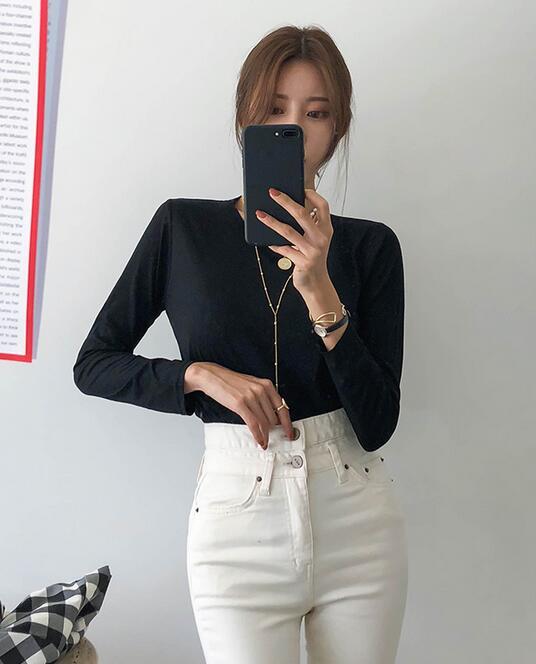 韓國服飾-KW-0902-007-韓國官網-上衣(兩件起)