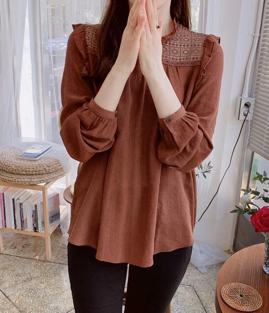 韓國服飾-KW-0902-019-韓國官網-上衣