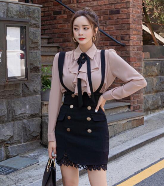 韓國服飾-KW-0905-003-韓國官網-裙子吊帶