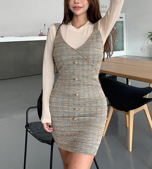 韓國服飾-KW-0909-045-韓國官網-連衣裙