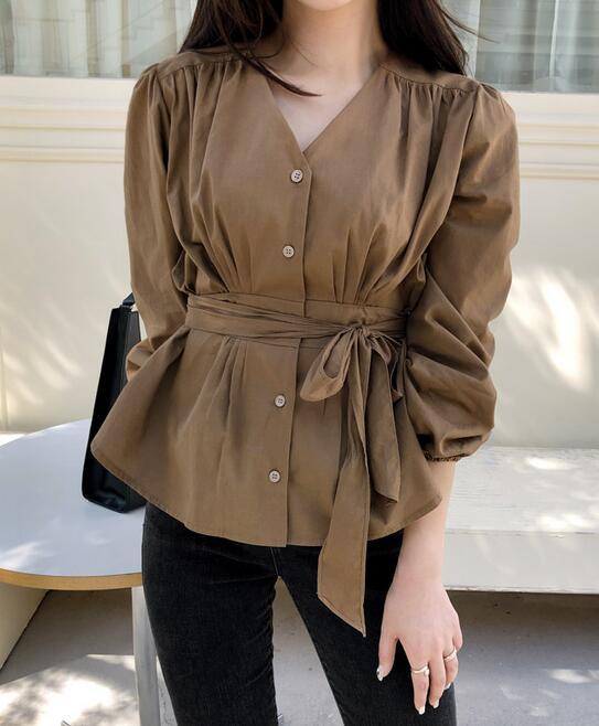 韓國服飾-KW-0911-058-韓國官網-上衣
