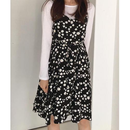 韓國服飾-KW-0902-089-韓國官網-連衣裙(吊帶)