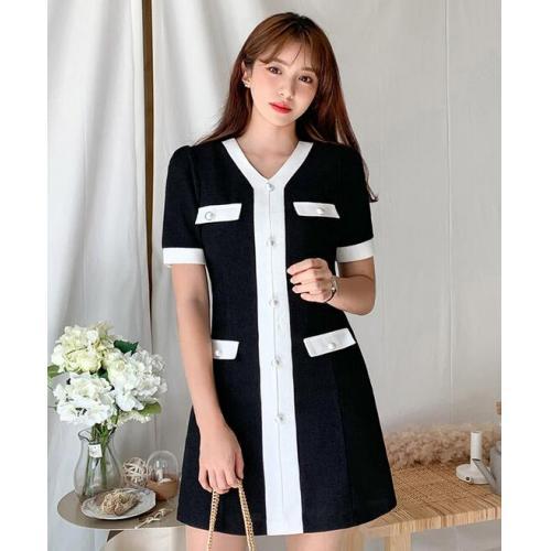 韓國服飾-KW-0909-002-韓國官網-連衣裙