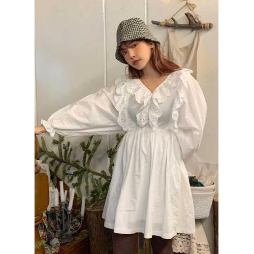 韓國服飾-KW-0207-049-韓國官網-連衣裙