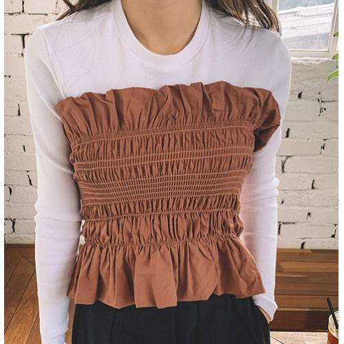 韓國服飾-KW-0212-067-韓國官網-上衣