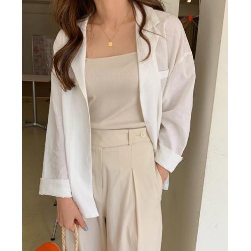 韓國服飾-KW-0607-047-韓國官網-外搭襯衫