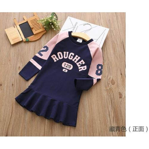 韓版童裝-CA-0914-027-連衣裙