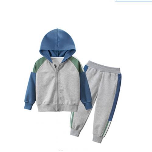 韓版童裝-CA-1102-048-套裝(上衣+褲子)