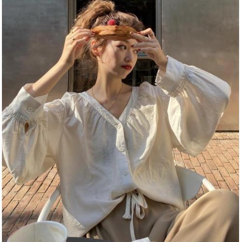 韓版-女裝-CA-A0301-059-上衣
