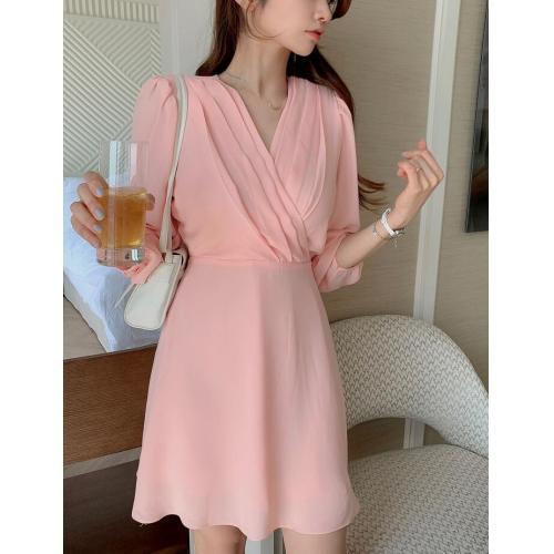 韓國服飾-KW-0409-039-韓國官網-連衣裙