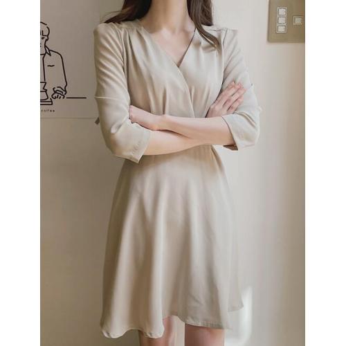 韓國服飾-KW-0418-009-韓國官網-連衣裙