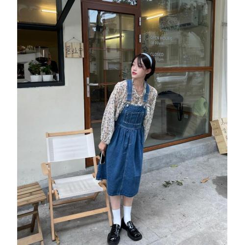 韓版-女裝-CA-A0524-001-吊帶裙