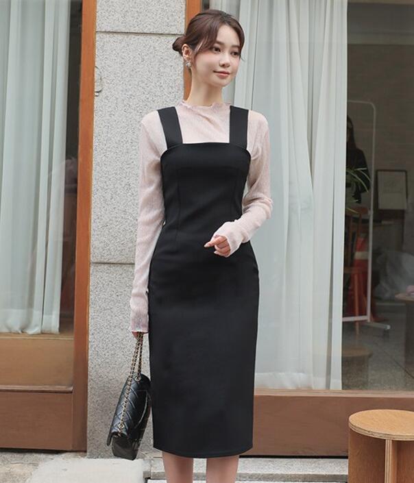韓國服飾-KW-1011-138-韓國官網-吊帶裙